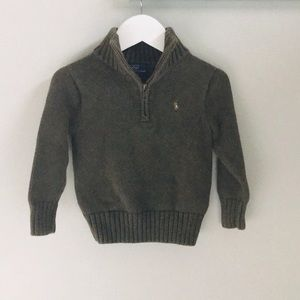 Polo by Ralph Lauren Half Zip Knit Sweater